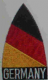 Germany Embroidered Flag Patch, style 02.